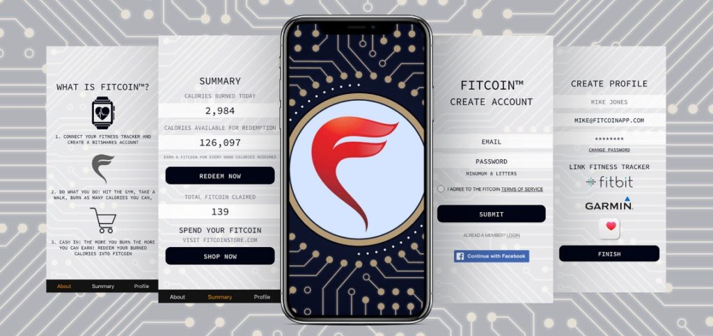 how does fitcoin work IN FITCOIN App