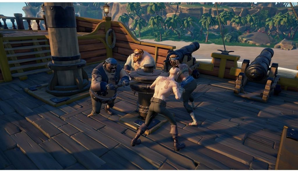 Role of the Crews in sea of thieves reddit