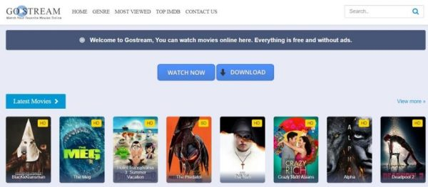 gomovies gostream reddit streaming