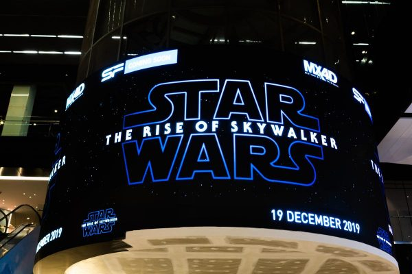 Star Wars: The Rise of Skywalker Poster in Theater