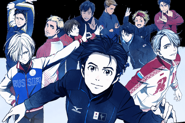yuri on ice animation series