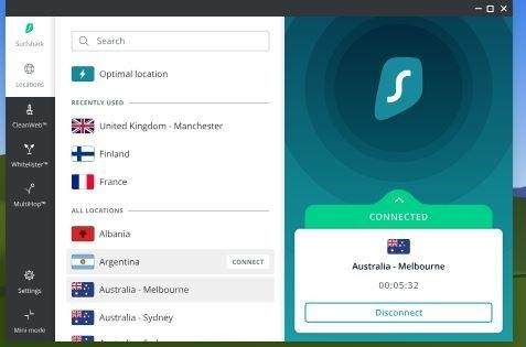 surfshark vpn for windows 10 users free