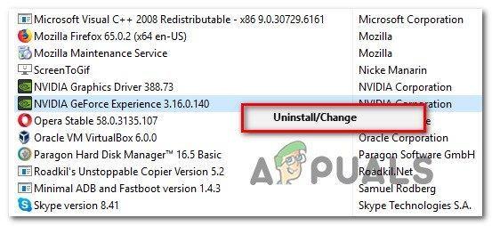 Uninstalling GPU