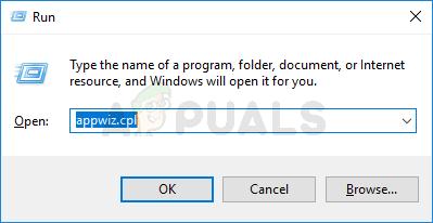 run appwiz.cpi in the run to fix GeForce Experience Error Code 0x0003