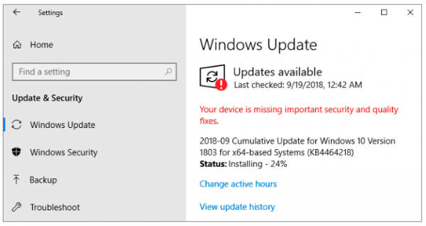 windows 10 disk usage 100