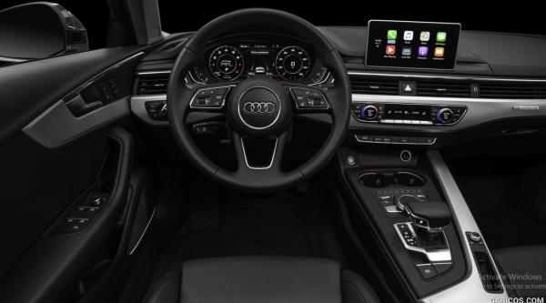 Interior of Audi A4