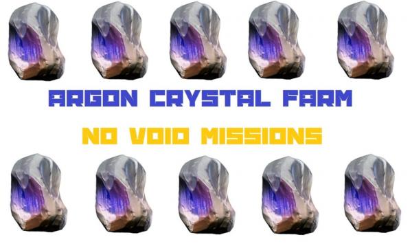 Argon Crystals