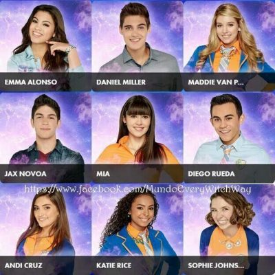 Casts of Every Witch Way