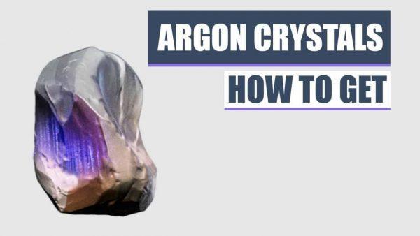 How To Get Argon Crystals