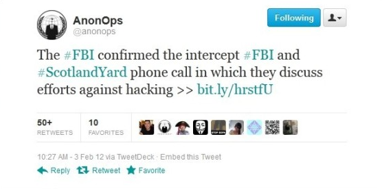 7 Most Shocking Tweets from the Official Anonymous Twitter Channel