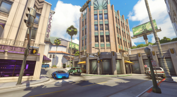 Hollywood in Overwatch maps