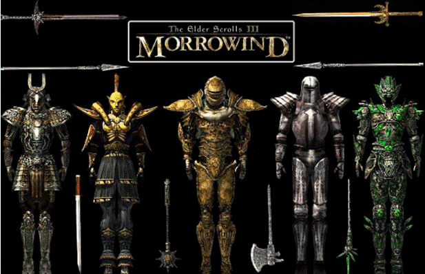 Morrowind Player Characters