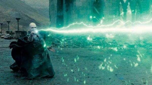 Voldemort using Avada Kedavra