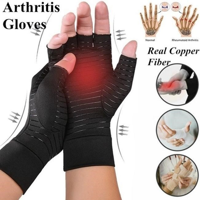 Picture: Arthritis gloves made of different material