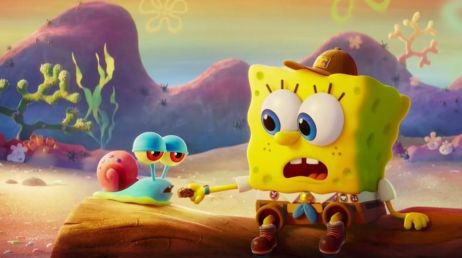 Picture: Gary and SpongeBob have a strong bond
