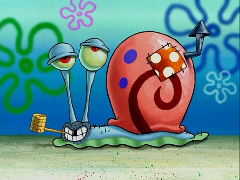 Picture: Gary the snail