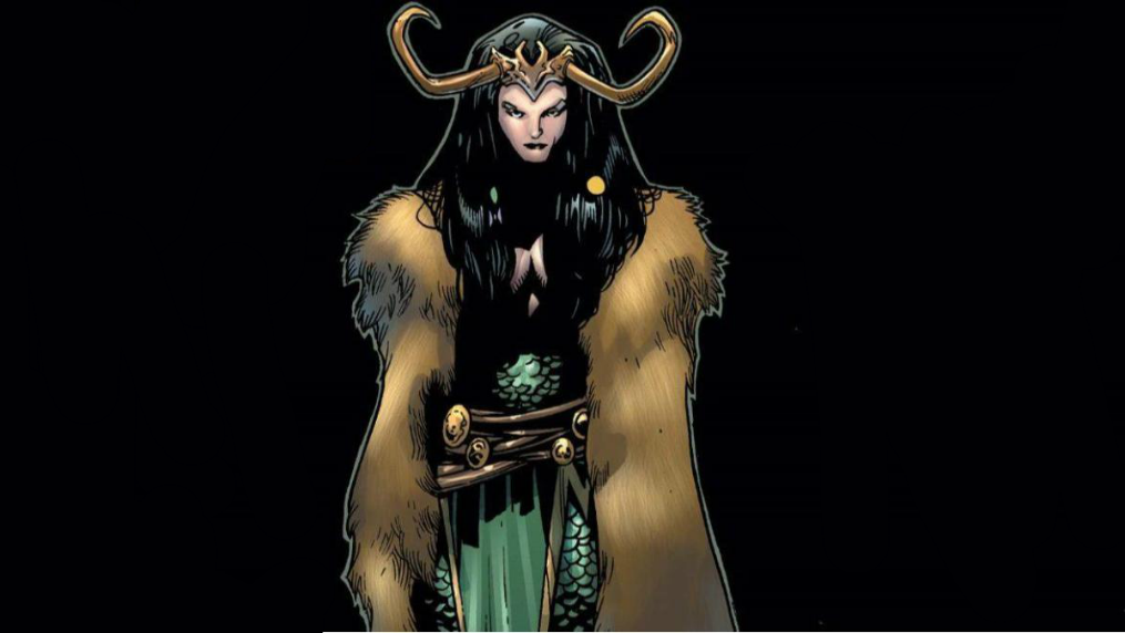 Picture: Lady Version of Loki in Marvel comic