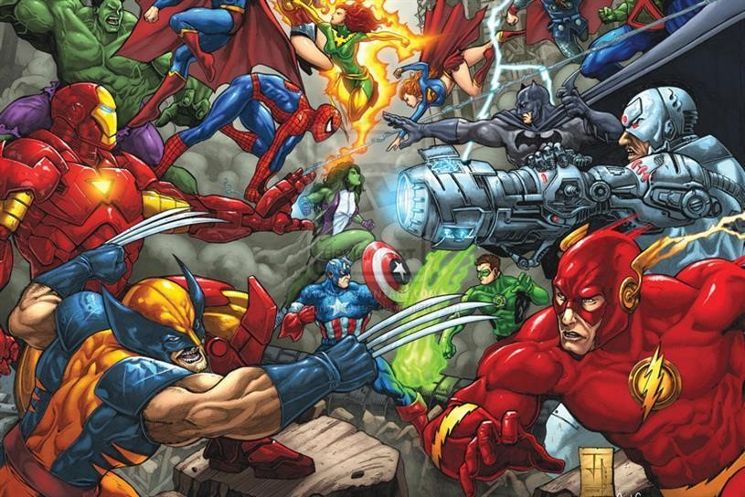 Picture: Characters of Marvel and DC