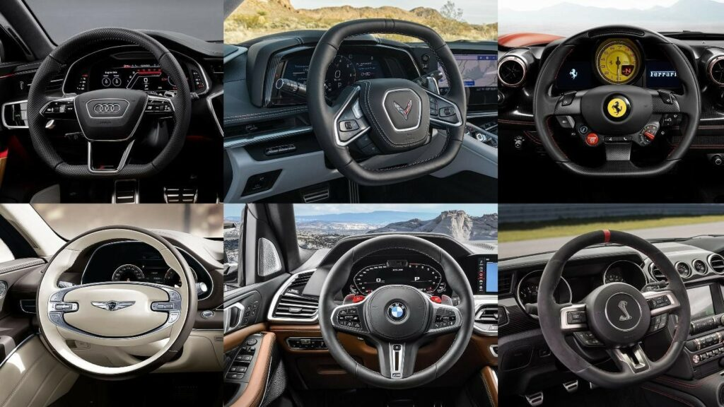 Picture: Different Types of Steering Wheels