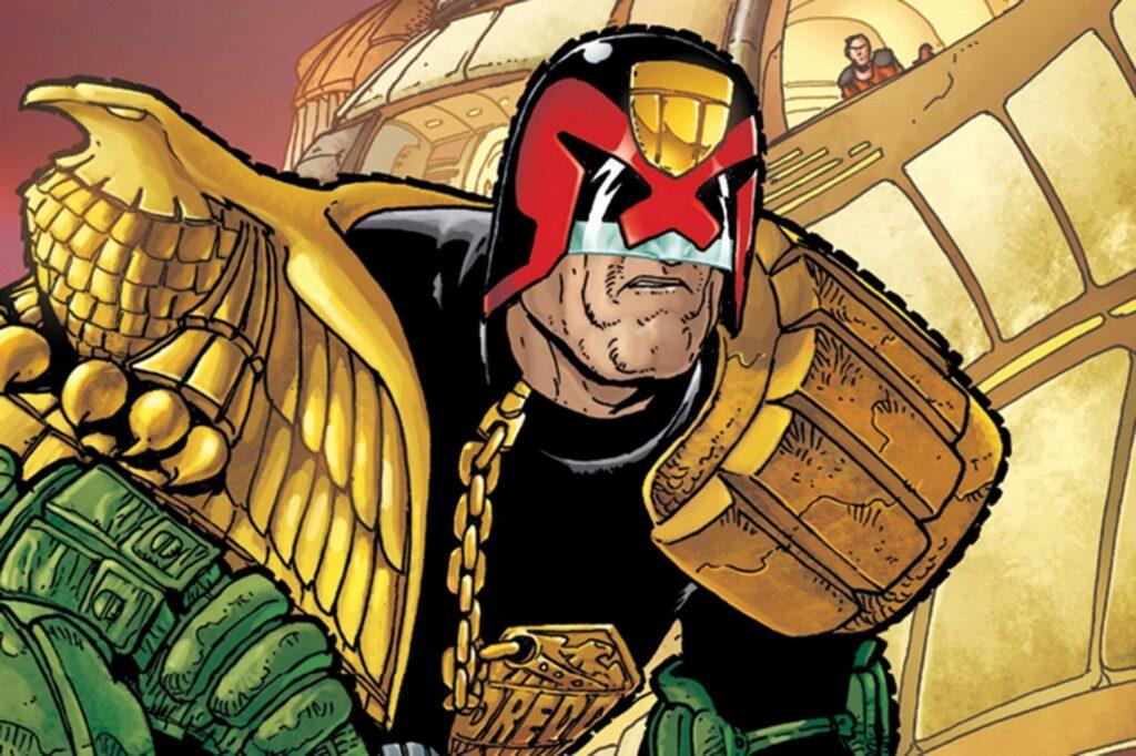 Picture: Judge Dredd in comic