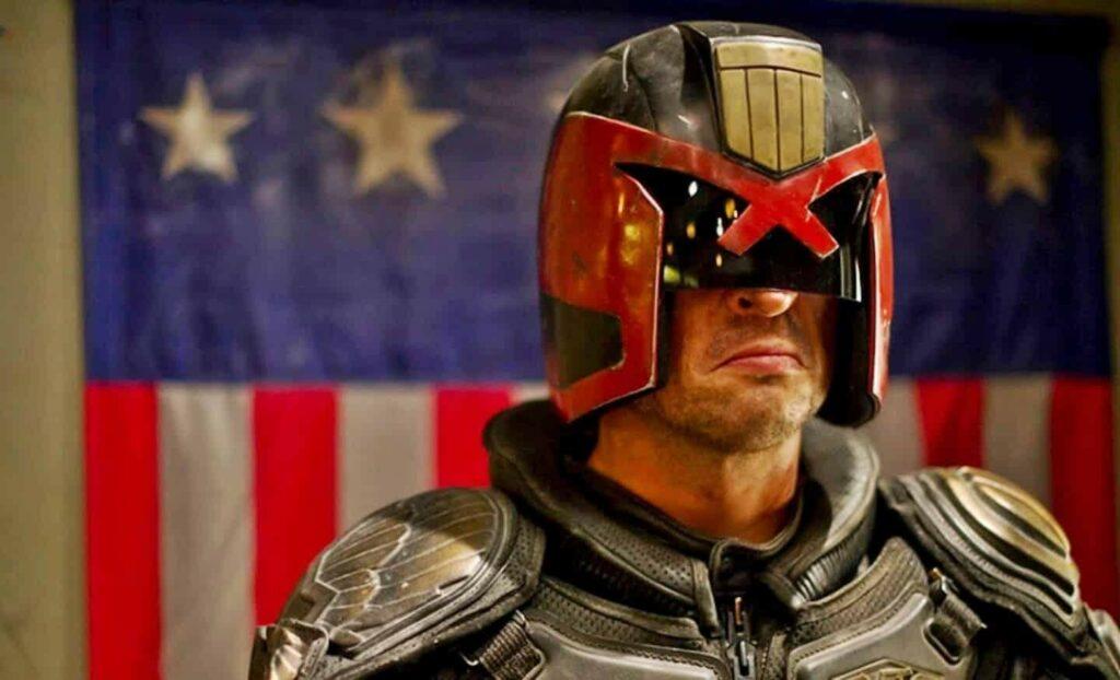Picture: Karl Urban as Judge Dredd