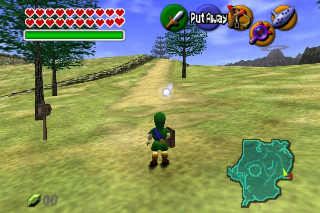Picture: Ocarina of Time Gameplay