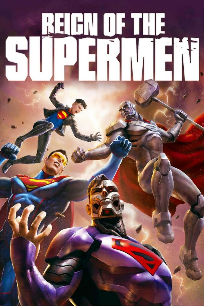 Picture: Reign of Superman in superman black suit