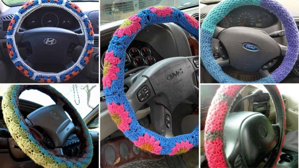 Picture: Steering wheel covers available for the winter season