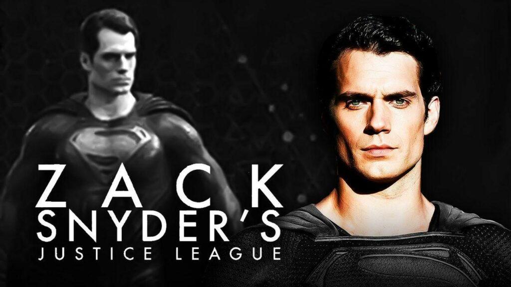 Picture: Superman in Zack Snyder's Justice League superman black suit