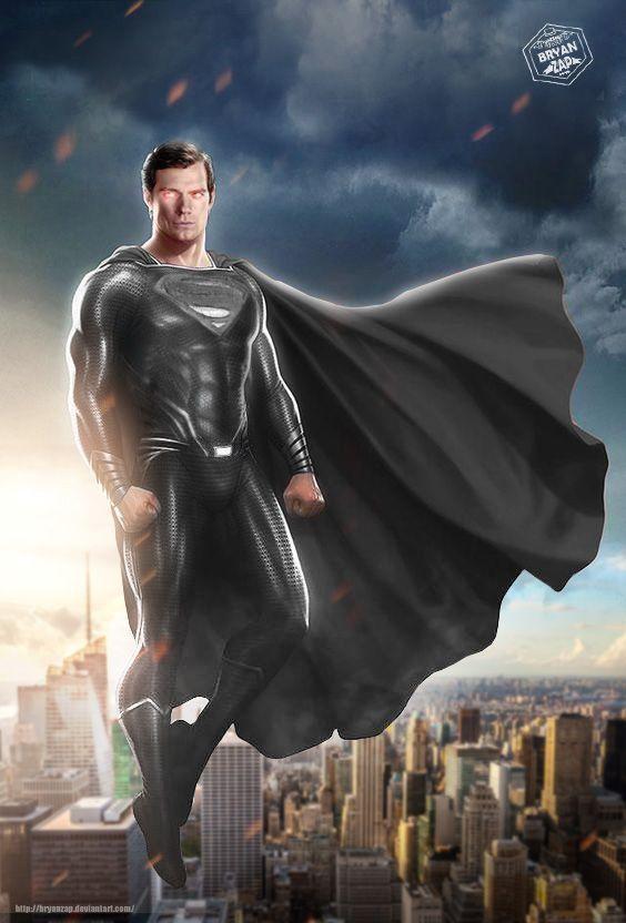 Picture: superman black suit
